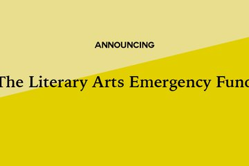 literary arts emergency fund