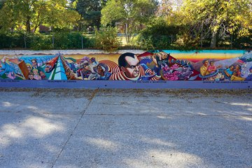 The Great Wall of Los Angeles, an epic cycle of murals