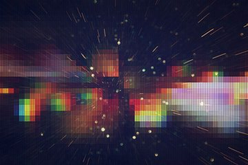 pixelated digital art image