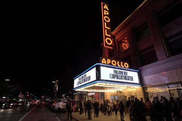 Apollo Theater marquee and facade